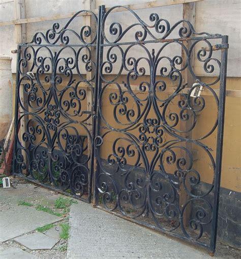 iron gate headboard old iron gate fences and gates pinterest