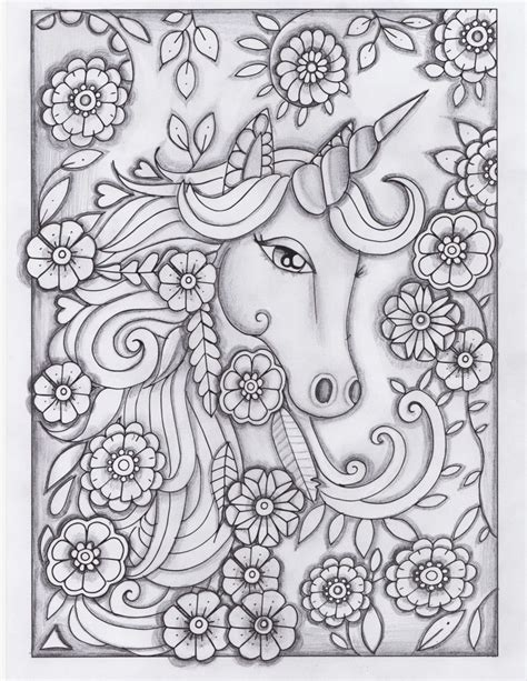unicorn coloring book unicorn greyscale drawing unedited coloring pages