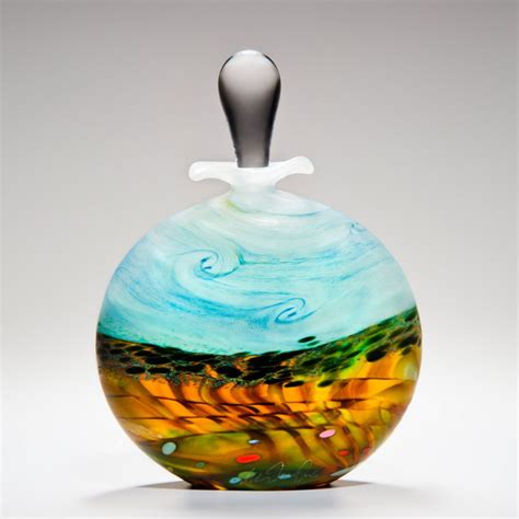 decorative perfume bottles decorative perfume bottle wheatfield by peter layton