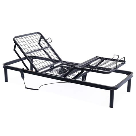 xl metal adjustable bed frame with remote fastfurnishings