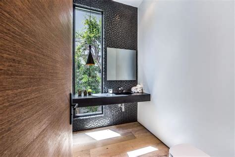 indoor outdoor bathroom hgtv chic west hollywood home maximizes indoor outdoor living
