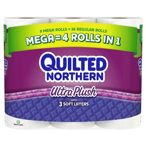 Quilted Northern Ultra Plush 30 Jumbo Rolls by Quilted Northern Upc Barcode Upcitemdb