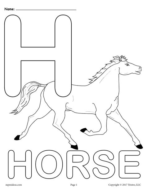 coloring pages for letter h letter h alphabet coloring pages 3 free printable versions