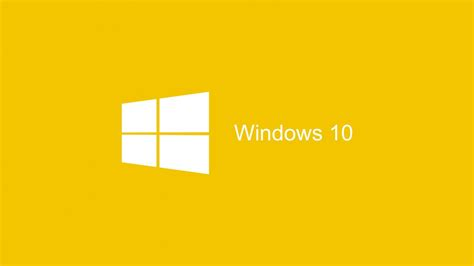 imagenes windows 10 hd descargar 1366x768 windows 10 2015 fondo amarillo fondo de