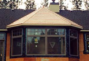 Bow Windows Cost copper shingles bay window metal roofing kit