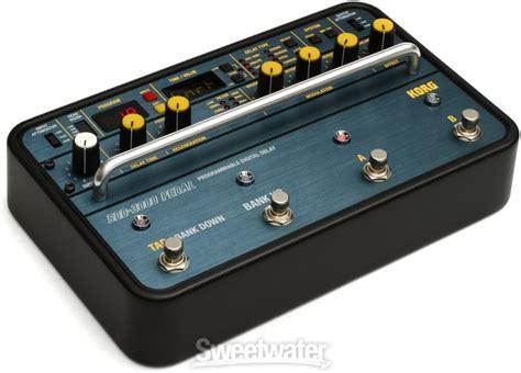 Korg Sdd3000 Programmable Digital Delay korg sdd 3000 programmable digital delay pedal demo insync sweetwater