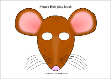 rat clipart mask pencil and in color rat clipart mask