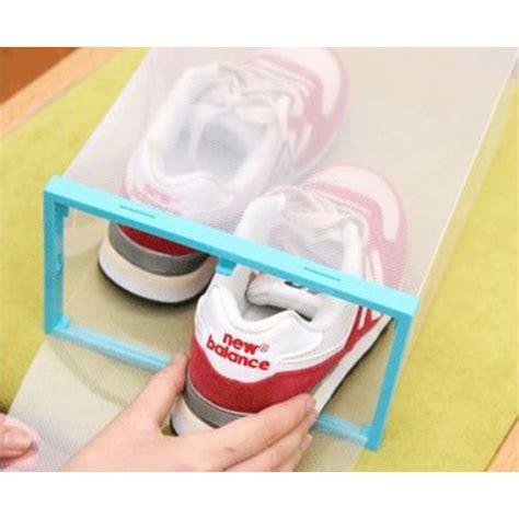 Kotak Sepatu Bongkar Pasang kotak sepatu plastik bongkar pasang multi color
