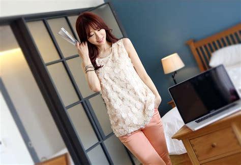 Atasan Kaos Buntung baju atasan wanita lengan buntung model terbaru jual