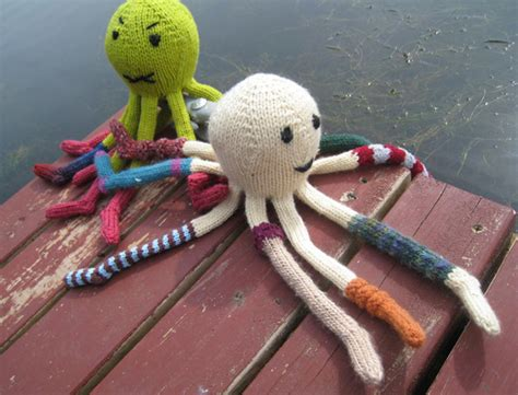 knitting pattern octopus sea creature knitting patterns in the loop knitting