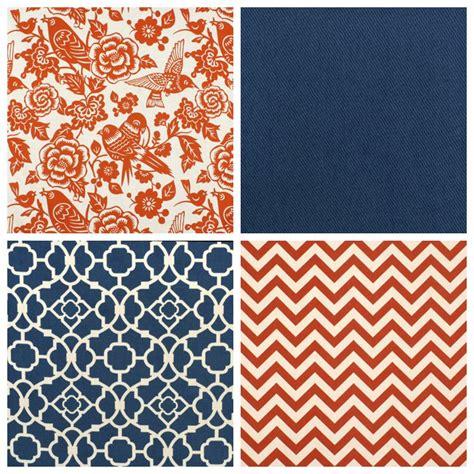 orange and blue combination blue fabric print mixing part 2 onlinefabricstore net blog