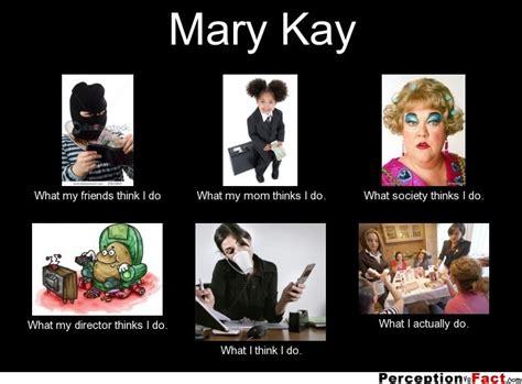 Mary Meme - mary kay what people think i do what i really do