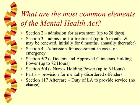 section 22 mental health what is mental illness mental illness is a general term