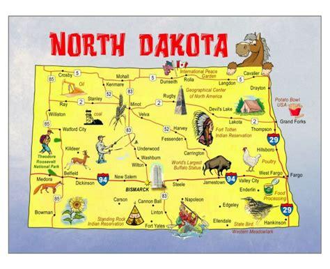 dakota in usa map maps of dakota state collection of detailed maps