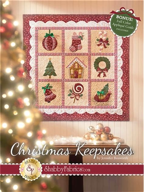 christmas keepsakes book by jennifer bosworth of shabby