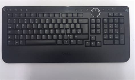 Keyboard Wireless Dell uk dell wireless cordless keyboard qwerty m760c