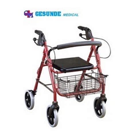 Alat Bantu Jalan Walking Aid Rollator Murah alat kesehatan grosir alat bantu jalan rollator fs 965lh