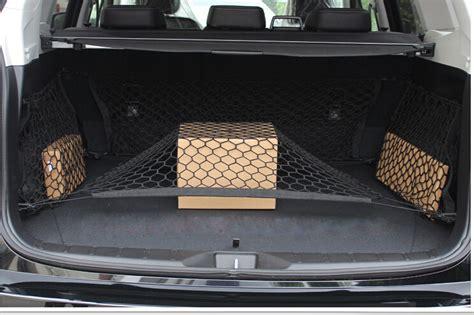 Car Trunk Cargo Net Luggage Mesh Net 102 X 38cm Hitam Omrs4bbk car trunk luggage net guide