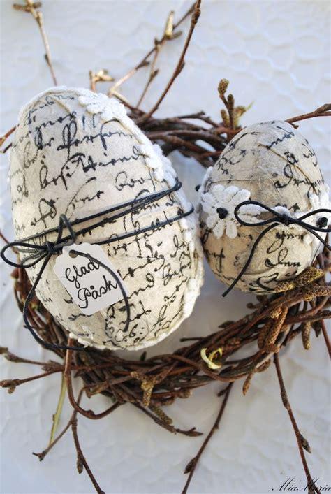 como pegar y decorar huevos de pascua decorar los huevos de pascua con decoupage quedan