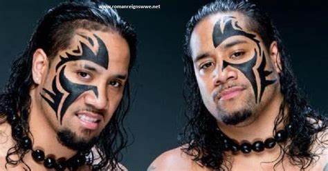 wwe umaga face paint the usos family images real names short biography and hd