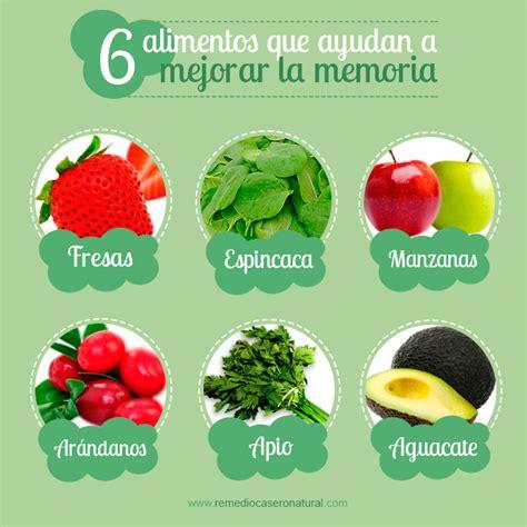 alimentos que ayudan a mejorar 6 alimentos que ayudan a mejorar y fortalecer la memoria
