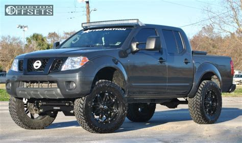 nissan frontier 6 inch lift kit wheel offset 2012 nissan frontier slightly aggressive
