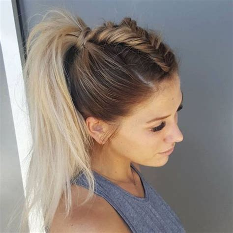 how to style hair for track and field how to wear the mohawk braid hair world magazine