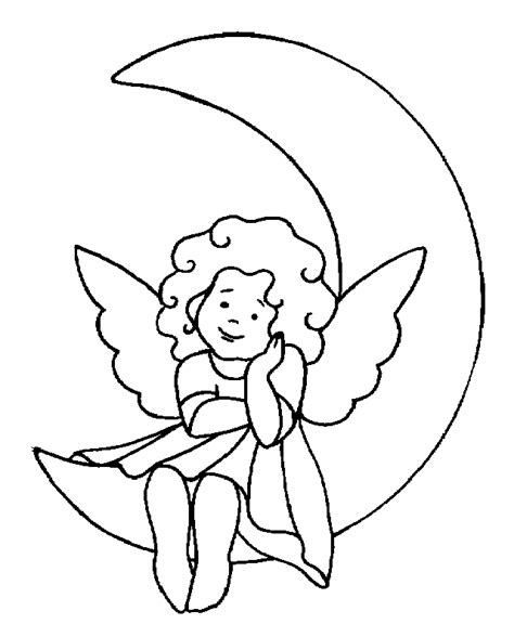 baby angel coloring page sweet little angel coloring pages
