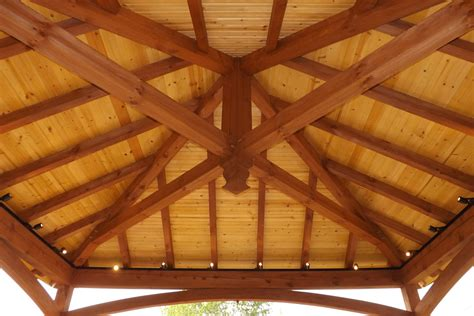 Vinyl Tongue And Groove Ceiling by Pavilions Timber Frame Vinyl The Barn Yard Great