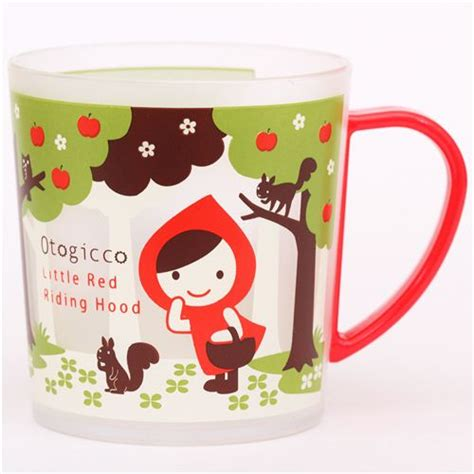 cool cups in the hood kawaii otogicco little red riding hood wolf plastic cup