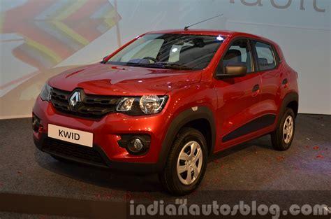 renault kwid on road price diesel renault kwid diesel variant ruled out