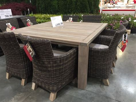 teak patio furniture costco ktrdecor