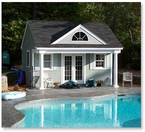 Pool Houses Plans Pool House Cabana Plans Find House Plans
