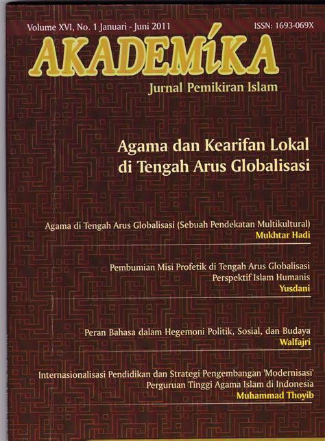 Jurnal Pemikiran Sosial Ekonomi spirit pendidikan dalam al quran akademika jurnal