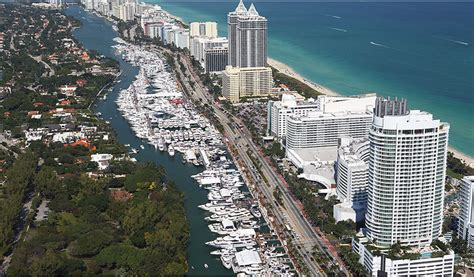 miami boat show releases insider tip don t confuse yachts miami beach with the