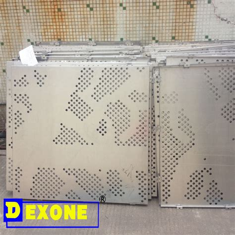 perforated pattern design software cnc aluminum metal perforated facade panel with arts