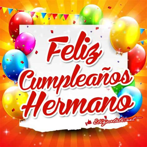 ver imagenes que digan feliz cumpleaños brother on pinterest frases brother quotes and facebook