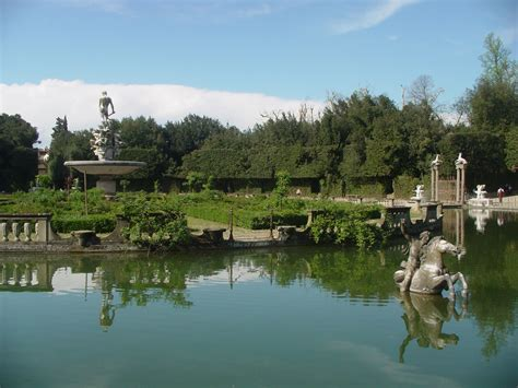 giardino boboli pianta firenze giardini di boboli