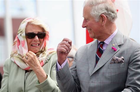 prince charles prince charles and camilla giggling during cultural