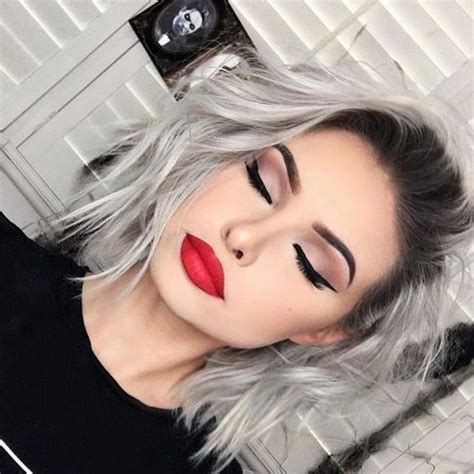 Eyeliner Silver Pixy 499 best dyed silver or gray hair images on