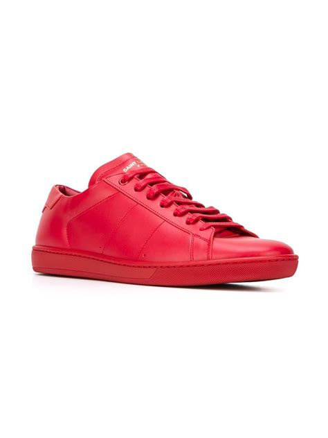 laurent sneakers mens lyst laurent court classic sneakers in for