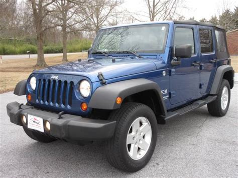 Jeep Wrangler For Sale Sc 2009 Jeep Wrangler Unlimited X For Sale In Laurens Sc