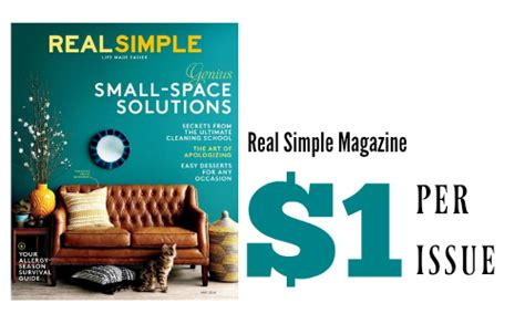 real simple magazine real simple magazine for 12 southern savers