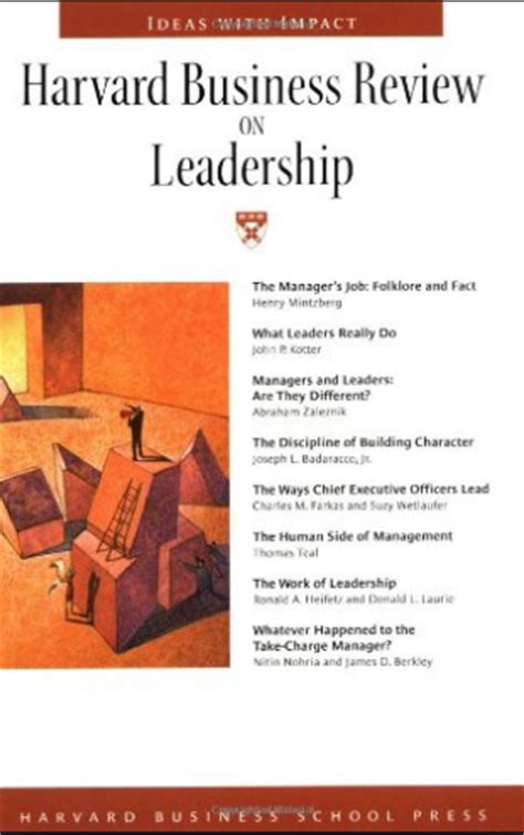 Harvard Mba Reading List 2014 by Become A Better Leader 10 Books That Can Help Page 10