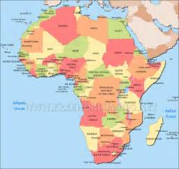 Map Africa by Africa Map Free Large Images