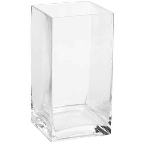 large square glass vase from hill interiors