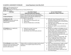 department plan template best photos of departmental report template