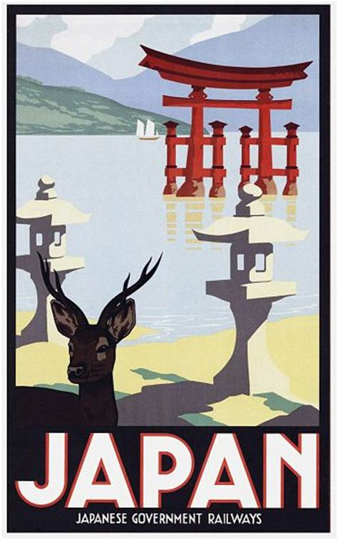 Plakat Japan by Japanese Vintage Poster Und Plakate Auf Kunstkopie De