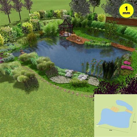 kleingarten gestaltungsideen naturagart shop kleingarten schwimmteich set 2