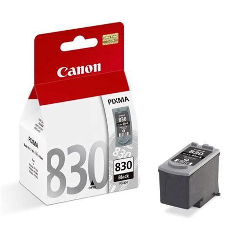 Berkualitas Canon Pg 830 Black jual canon black ink cartridge pg 830 harga dan spesifikasi